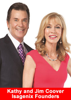 Isegenix International, Co-Founders, Jim and Kathy Coover