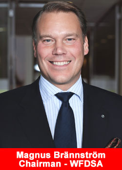 Oriflame CEO Magnus Brannstrom Named Chairman Of The World Federation Of Direct Selling Associations