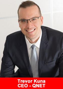 Qnet, CEO, Trevor Kuna