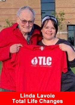 Linda Lavoie Gives More at TLC