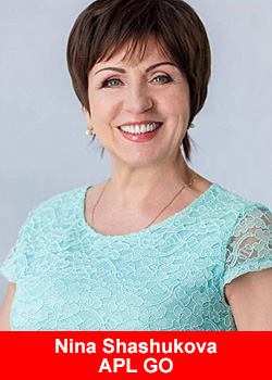 Nina Shashukova From Russia One Of APL Go's Top Earners