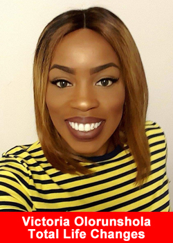 Victoria Olorunshola Achieves National Rank at Total Life Changes