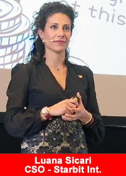 Luana Sicari Chief Sales Officer Starbit International
