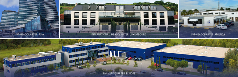 PM International World Headquarters in Schengen, Luxembourg