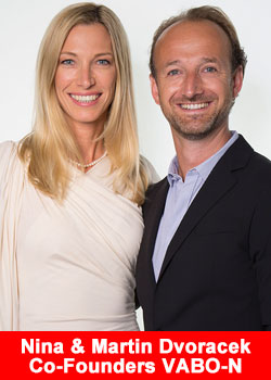 Nina and Martin Dvoracek Co-Founders Vabo-N