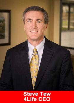 Steve Tew, 4Life, CEO