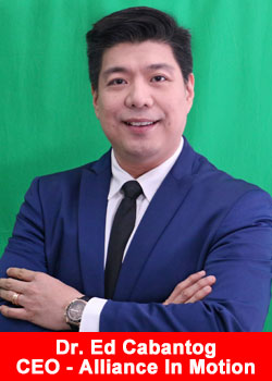 Dr Ed Cabantog, Alliance In Motion Global, CEO
