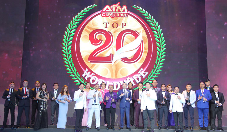 Top 20 distributors worldwide nr. 1 Joseph Lim