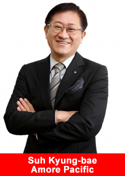 Amore Pacific, CEO, Suh Kyung-bae