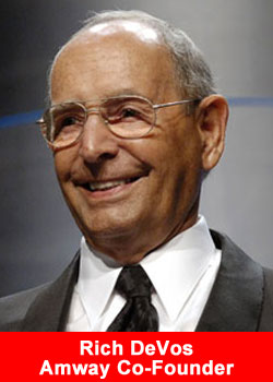 Richard DeVos Co-Founder Amway Dies At 92