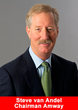 Steve van Andel, Amway