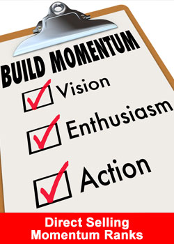 Direct Selling Momentum, MLM Momentum, Network Marketing Momentum