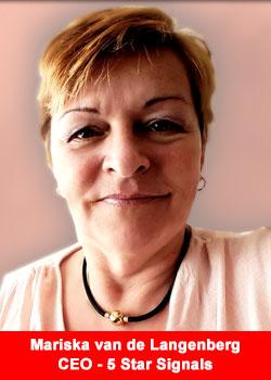 Mariska van de Langenberg, CEO, 5 Star Signals