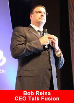 Bob Reina CEO Talk Fusion