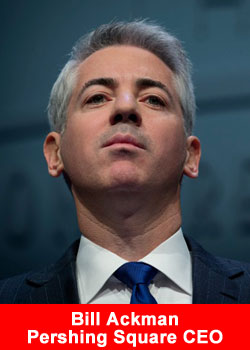 Bill Ackman,Pershing Square,CEO