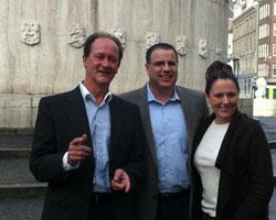 Interview Bob Reina & Allison Roberts - Ted Nuyten in Amsterdam