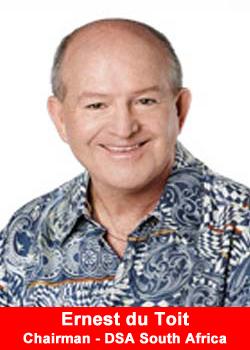 Ernest du Toit, Chairman, DSA South Africa