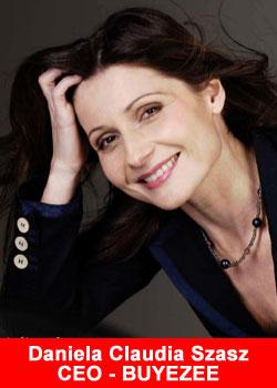 Daniela Claudia Szasz, CEO, Buyezee