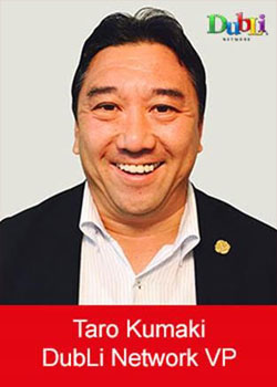 Taro Kumaki, Dubli, Vice President