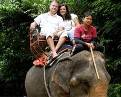 Glen and Kathy Jensen in Thailand