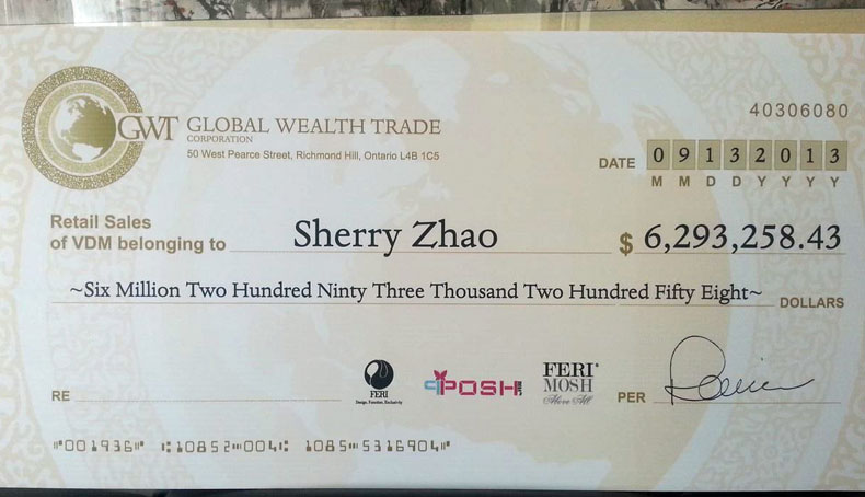 Sherry Zhao Retail Sales