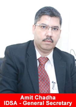 IDSA, General Secretary, Amit Chadha