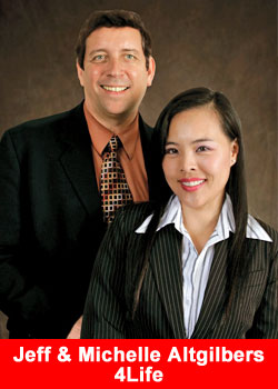 Jeff Altgilbers, Michelle Altgilbers, 4Life, top Earners