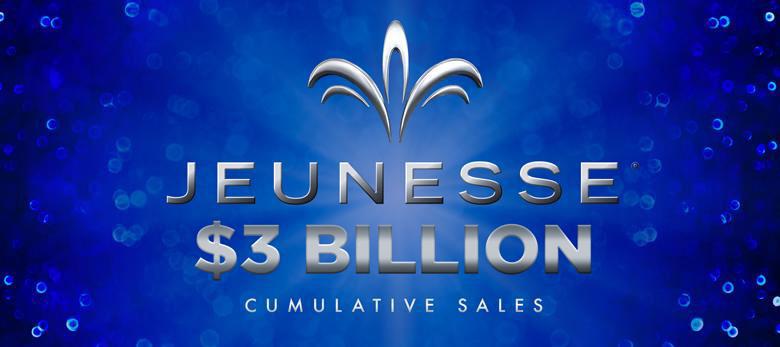 Jeunesse $3 Billion in sales