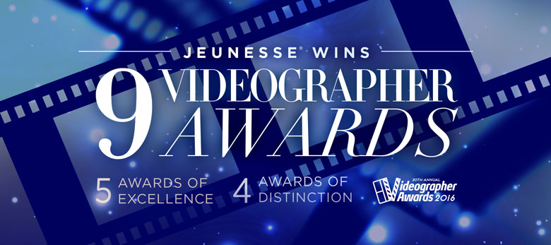 Jeunesse - Annual Videographer Awards