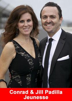 Conrad and Jill Padilla
