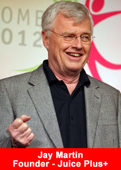 Jay Martin, CEO, Juice Plus