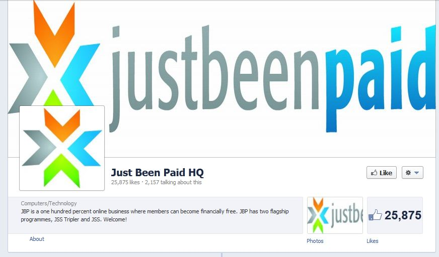 Just Been Paid Facebook Likes August 2012