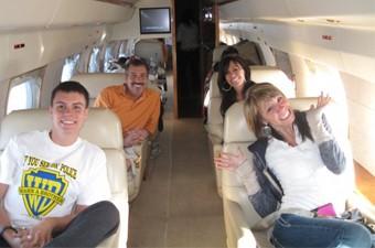Ken and Carol Porter Monavie Plane