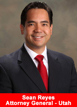 Sean Reyes, Attorney General, Utah, USA