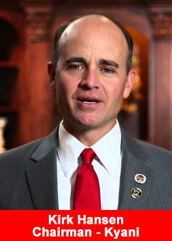 Kirk Hansen, Kyani, Chairman