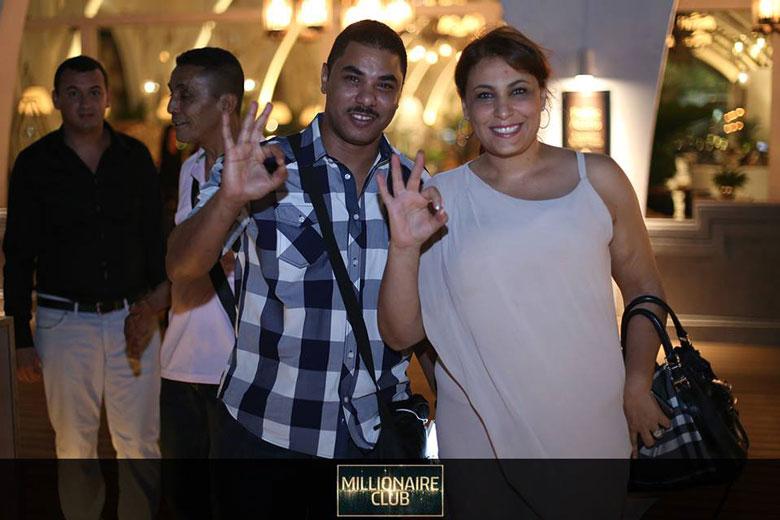 Lamia Bettaeib - Millonaire Club member