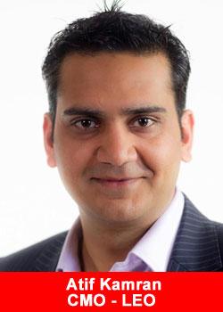 Atif Kamran,Muslim,Award, LEO