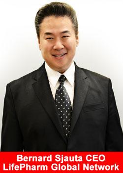 Bernard Sjauta CEO LifePharm Global Network