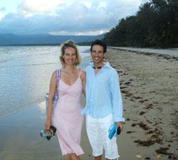 Masa and Miquel in Australia