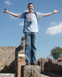 Matt Morris In Italy