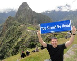 Matt Morris in Peru