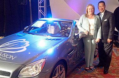 Minh and Julie Ho - Talk Fusion Mercedes