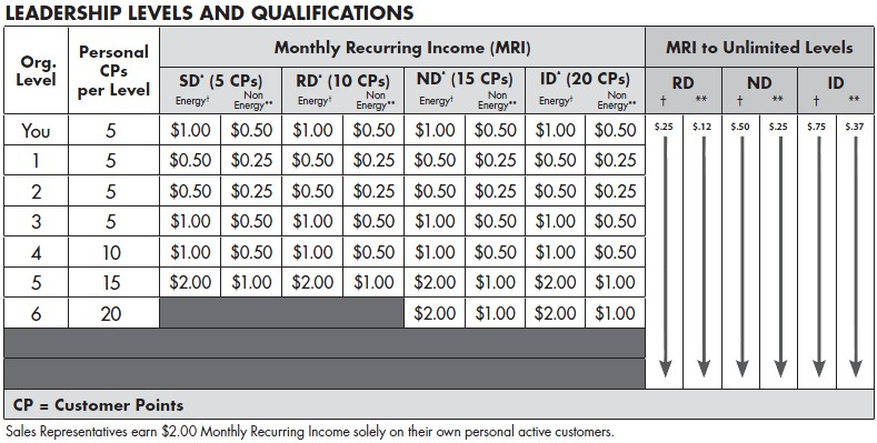 the quixtar independent business owner compensation plan