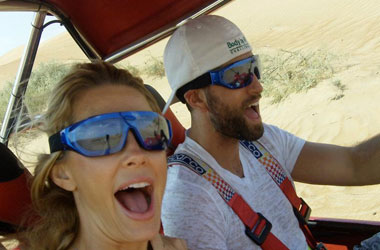 Nick and Ashley Sarnicola in Dubai