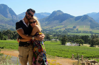 Nick and Ashley Sarnicola in South Africa