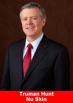 Truman Hunt, Nu Skin, CEO