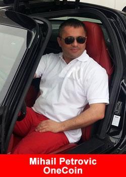 Mihail Petrovic, OneCoin