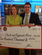 Claudia and Raymundo Morin Organo Gold