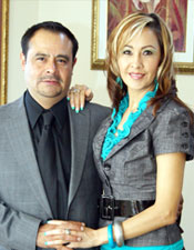 Esther Hernandez and Mario Castelan Organo Gold