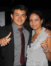 Ricardo and Paola Arellano Organo Gold